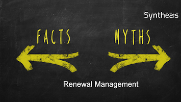 5 Common Myths in Adopting Renewal Management